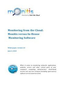 Monitoring from the Cloud: Monitis versus In-House Monitoring Software