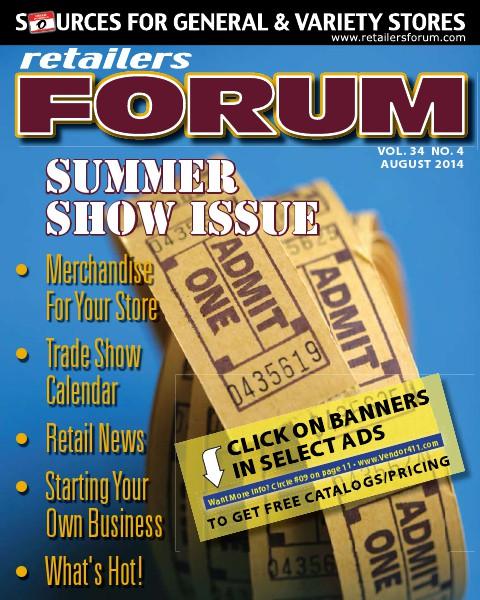 Retailers Forum Magazine AUG 2014
