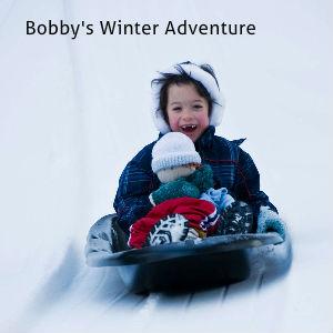 Swartzentruber-Stalford Sample Wedding Coffee Table Book (10x8) Bobby's Winter Adventure