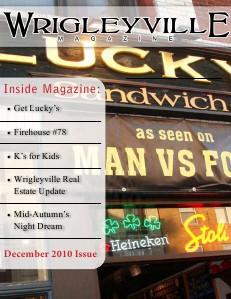 Wrigleyville Magazine Wrigleyville Magazine December 2010