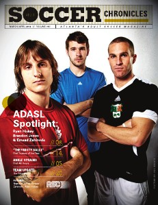 Adult Soccer Chronicles  Adult Soccer Chronicles Issue 1