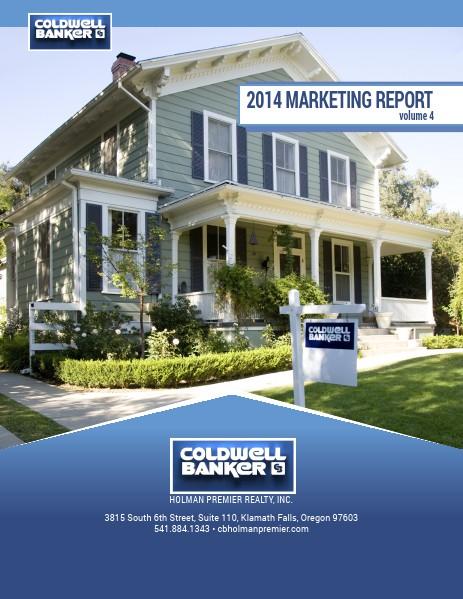 CBHPR Marketing Reports 2014 Marketing Report 1.1