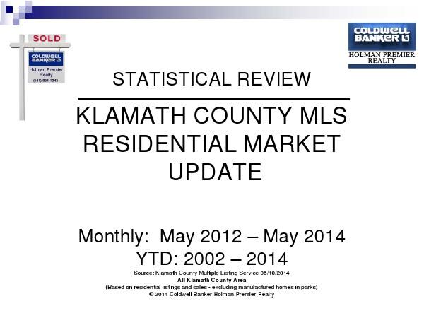 Statistics May 2014