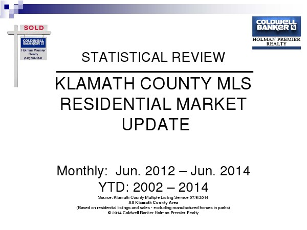 Statistics June 2014
