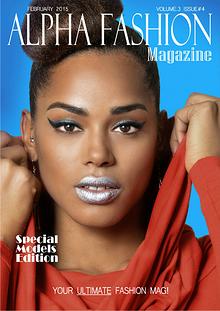 Alpha Fashion Magazine-Models Edition