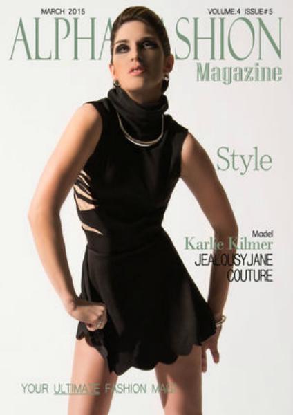 Alpha Fashion Magazine-Style Issue Volume.4 Issue#5 March 2015