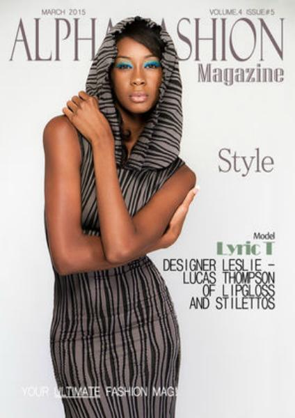 Alpha Fashion Magazine-Style Issue Volume.4 Issue#5 March 2015-Best Designer Winner