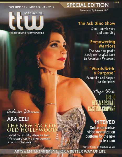 Ara Celi (Cover) - TTW Magazine Jan/Feb 2014 Special Edition Vol 5 Issue 3