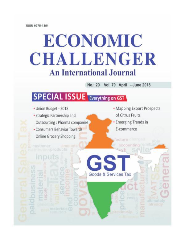 Economic Challenger Issue 79 April-June 2018