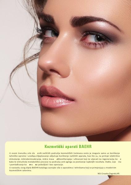 Katalog BAEHR - Kozmetički aparati 2013-2014