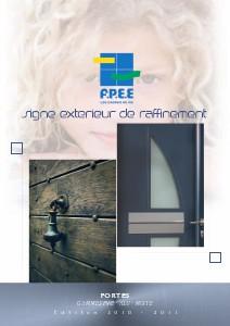 catalogues portails portes d'entrées F.P.E.E