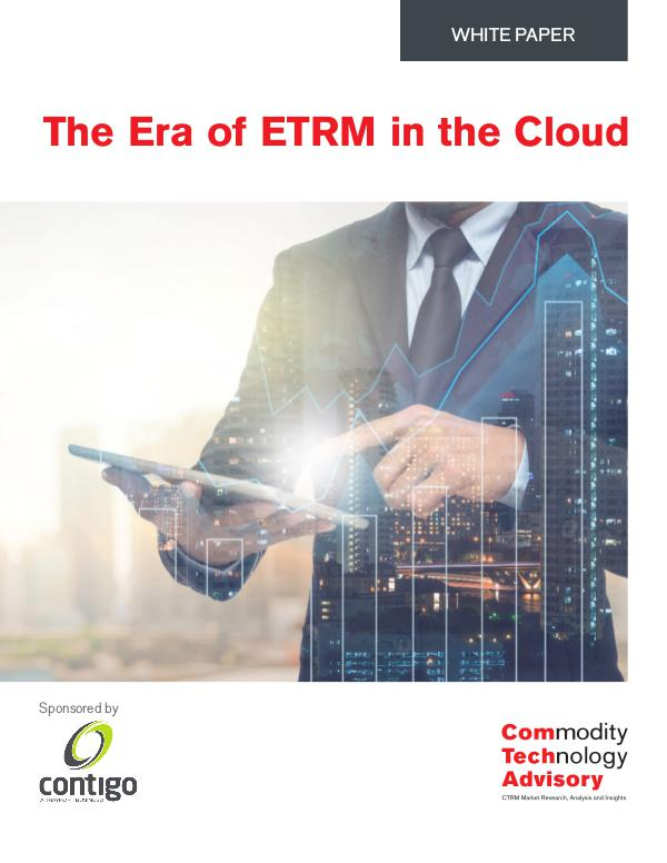 White Papers The Era of ETRM in the Cloud