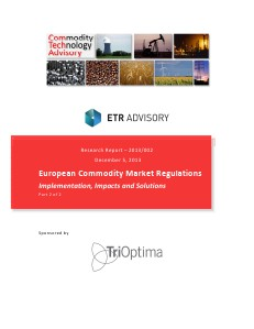 European Commodity Market Regulations - Part 2