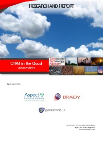 ETRM / CTRM in the Cloud