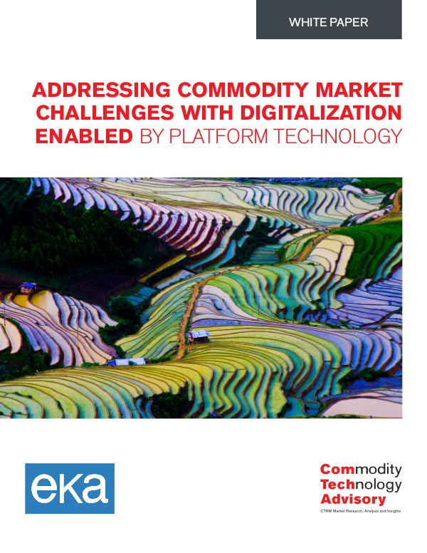 Addressing Commodity Market Challenges