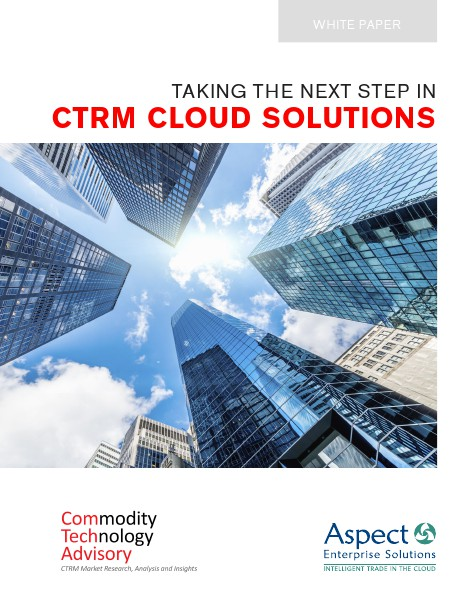 Taking the Next Step in CTRM Cloud Solutions