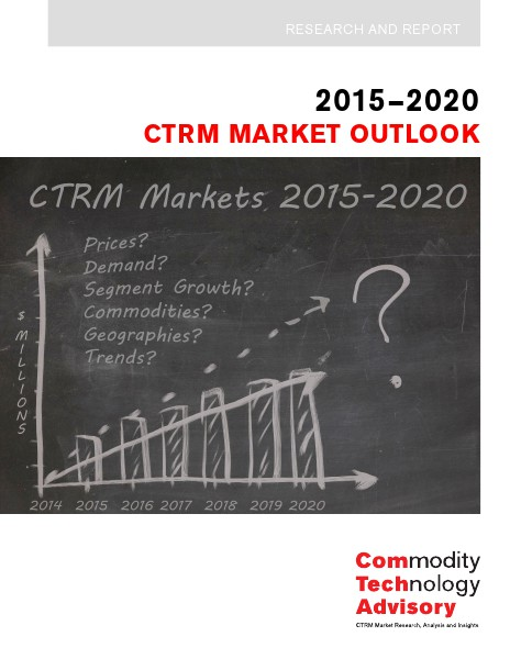 Reports ComTech Forecasts 2015 Global CTRM Market at $1.68