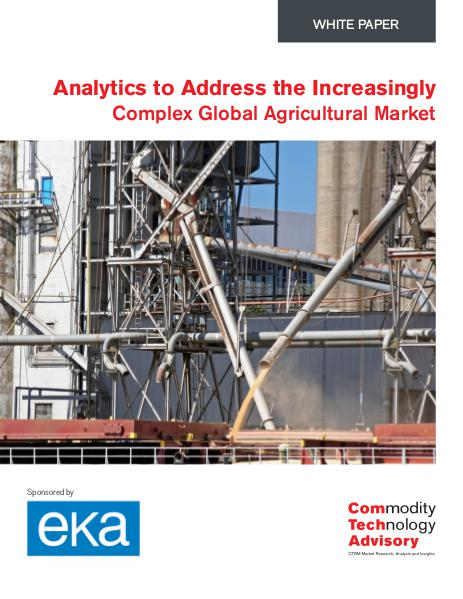 Analytics to Address Agricultural Market