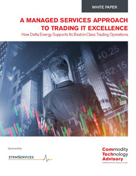 White Papers A Managed Services approach to Trading IT Excellen