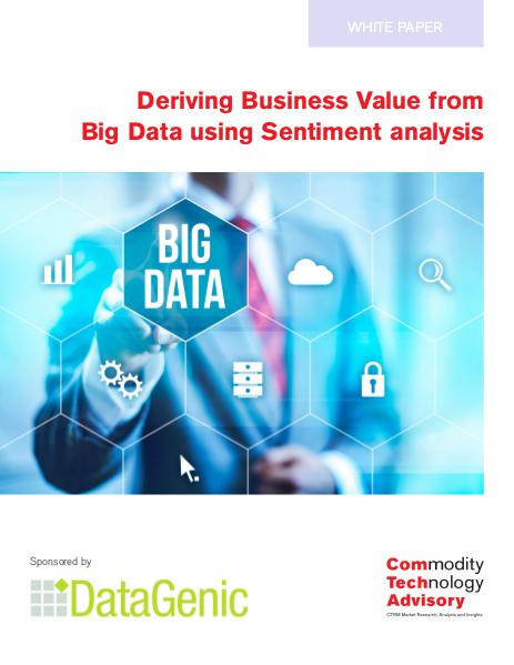 Deriving Business Value from Big Data using Sentim