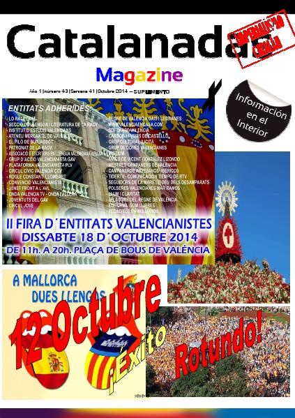 Catalanadas Magazine Suplemento Catalanadas Magazine