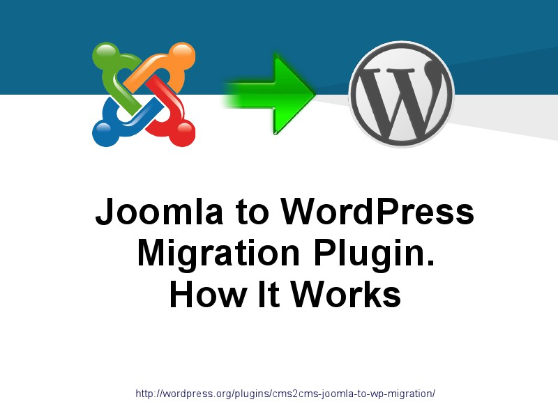 Joomla to WordPress Plugin