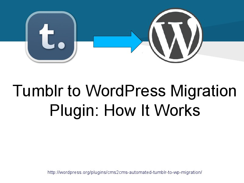 Tumblr to Wordpress Plugin
