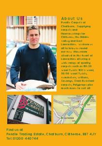 QU Book Local community directory /Pendle Carpets