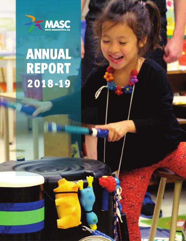 MASC Annual Reports English Annual Report 2018 - 2019