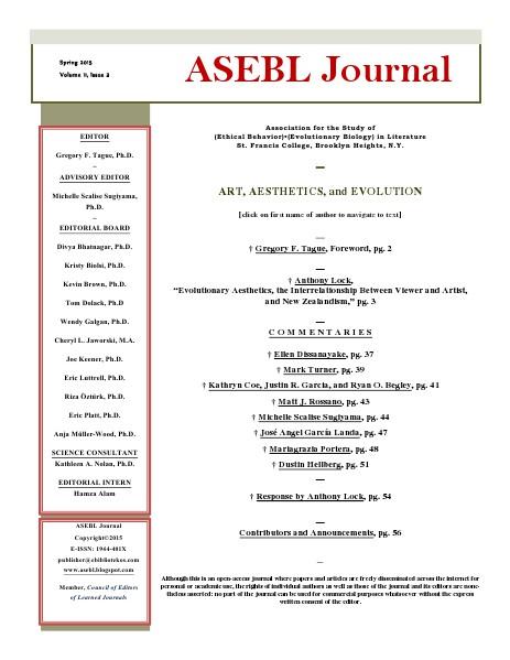 ASEBL Journal Volume 11, Number 2