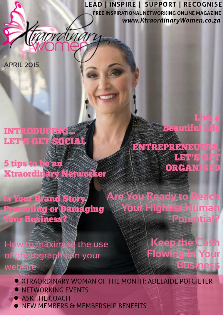 Xtraordinary Women Magazine April 2015