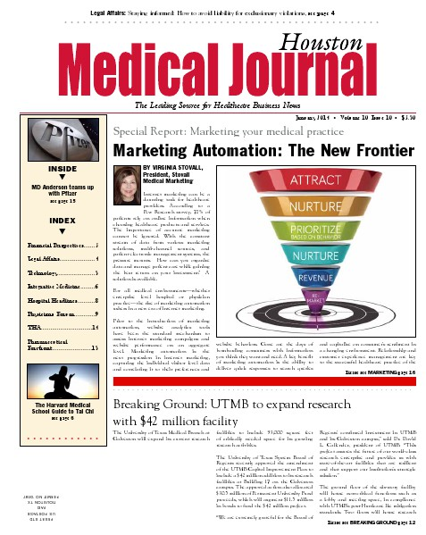 Medical Journal Houston Vol. 10, Issue 10, January 2014