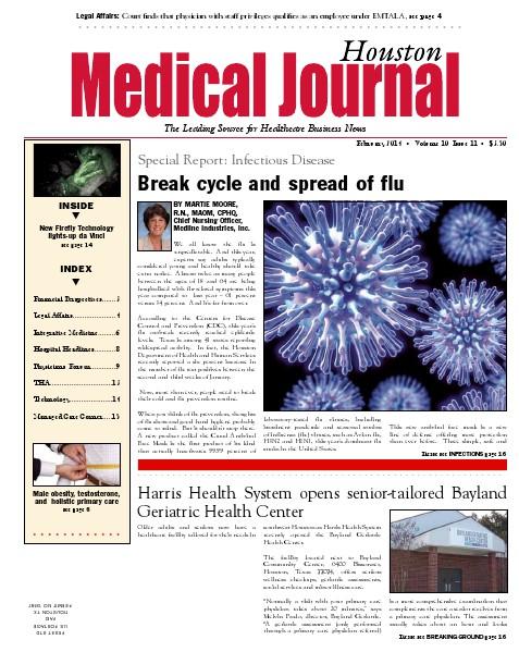 Medical Journal Houston Vol. 10, Issue 11, February 2014