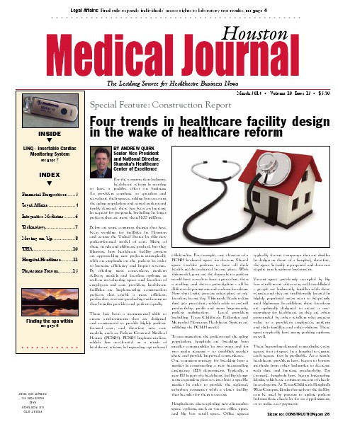 Medical Journal Houston Vol. 10, Issue 12, March 2014