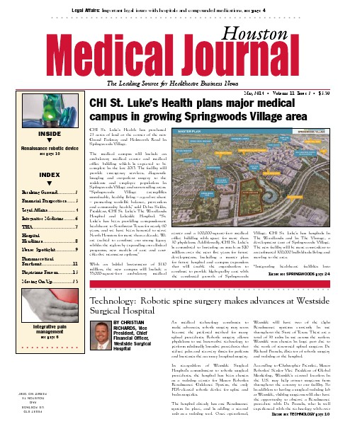 Medical Journal Houston Vol. 10, Issue 14, May 2014