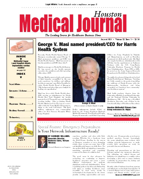 Medical Journal Houston Vol.11, Issue 17, August 2014