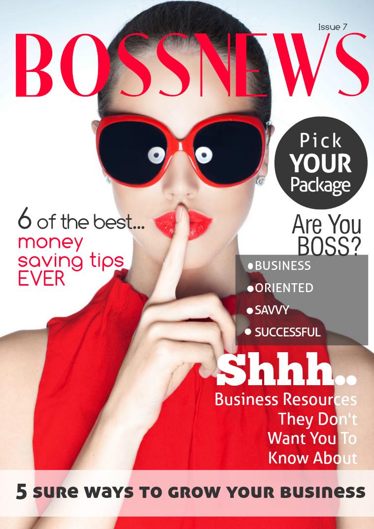 BOSSNews Magazine March 2015