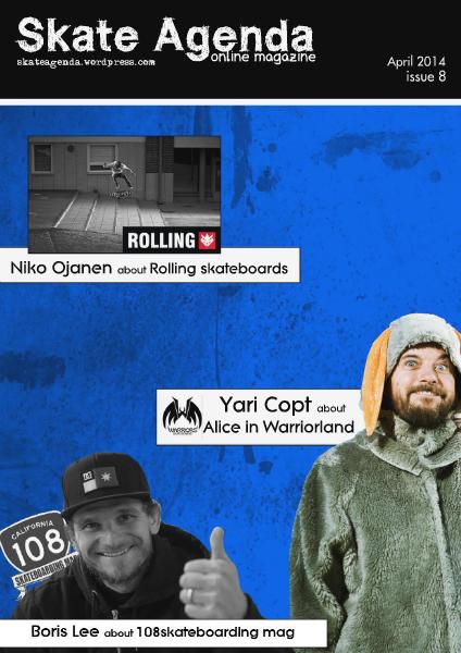 Skate Agenda 8/2014