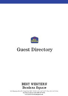Guest Directory Test v1