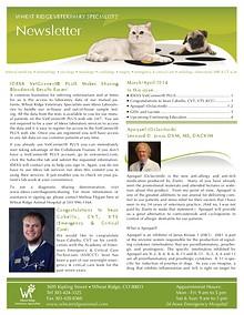 Wheat Ridge Animal Hospital Referral Newsletter