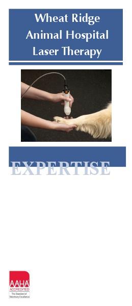 Brochures Wheat Ridge Animal Hospital Laser Therapy