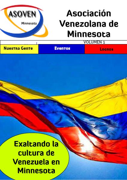 Associación de Venezolanos en Minnesota, Edición 1 Feb. 2014