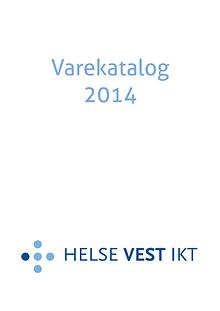 Varekatalog for Helse Vest IKT