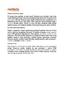 Nexterio - oferta sklepu