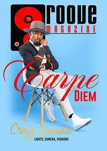 Groove Magazine Intl Carpe Diem Issue Sept 2021