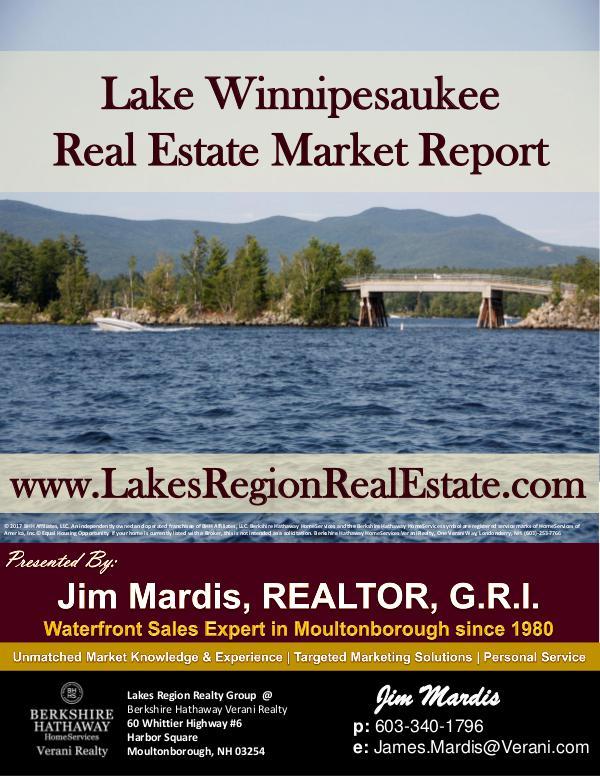 Lake Winnipesaukee Waterfront Market Report Vol 3