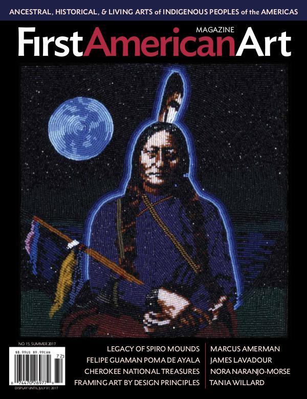 First American Art Magazine No. 15, Summer 2017