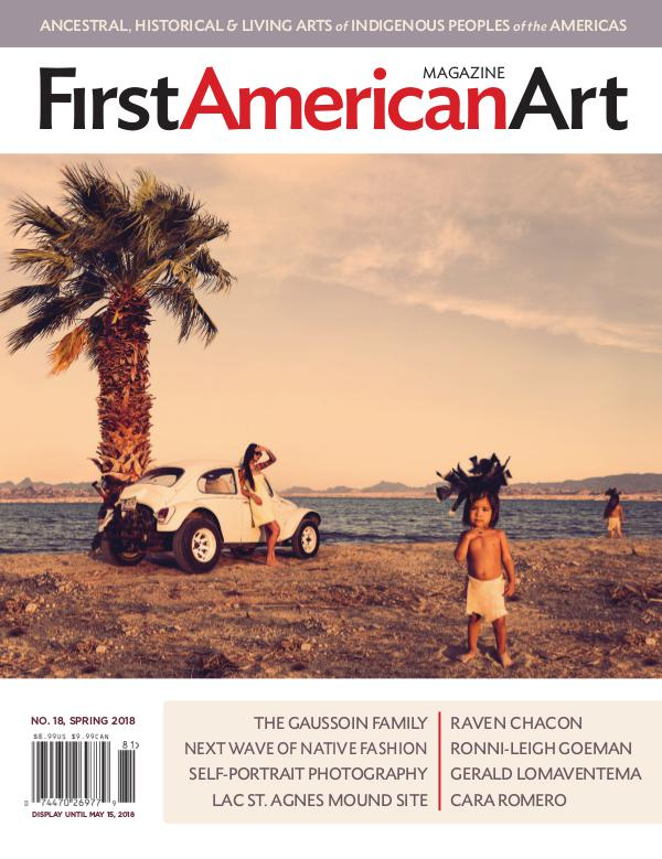 First American Art Magazine No. 18, Spring 2018