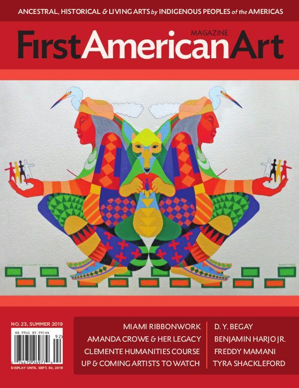 First American Art Magazine No. 23, Summer 2019