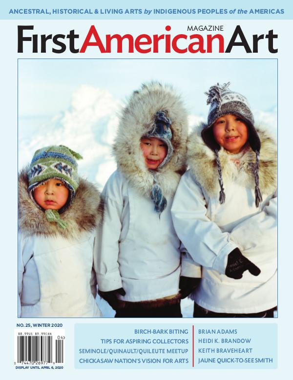 First American Art Magazine No. 25, Winter 2020 (Jan–Mar)